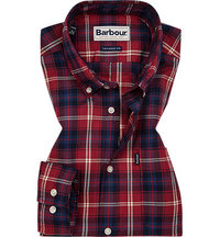 Barbour Highland Check biking red