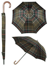 Barbour Tartan Walker Umbrella classic