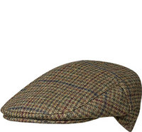 Barbour Crieff Cap Dk olive Check