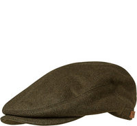 Barbour Redshore Flat Cap forest green