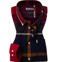 Barbour Hemd Dunoon red