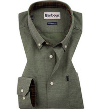Barbour Hemd Oxford moss