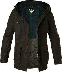 Barbour Jacke Coll Wax olive