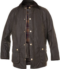 Barbour Jacke Ashby Wax olive