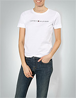 Tommy Hilfiger Damen T-Shirt WW0WW25281/100