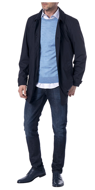 Gepflegter Jeans Look, Komplett-Outfit