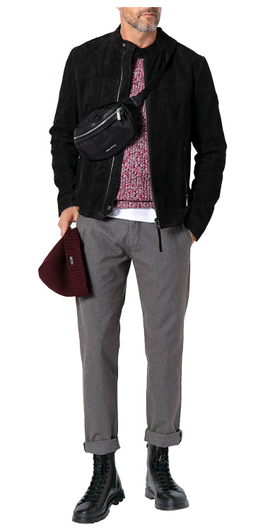 Cool, stylish, urban, Komplett-Outfit