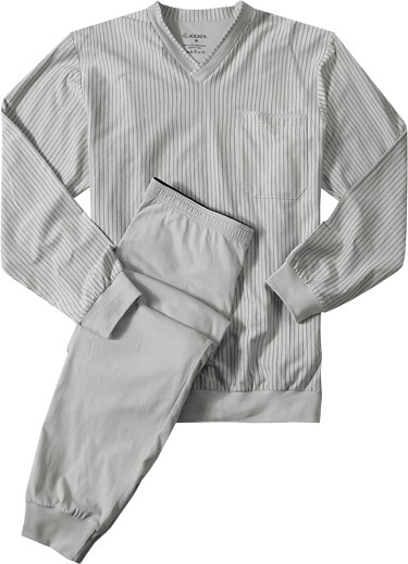 Jockey Pyjama Knit Cuff harbor gray 50050/921