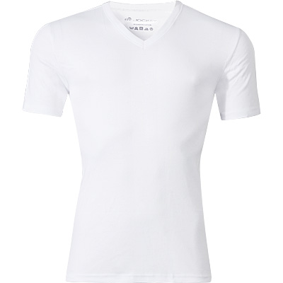 Jockey V-Neck Shirt weiss 22451813/100