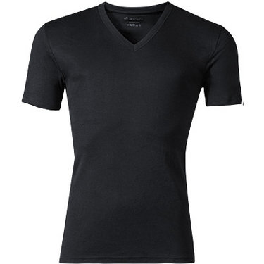 Jockey V-Neck Shirt schwarz 22451813/999