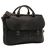 Barbour Wax Lather Briefcase