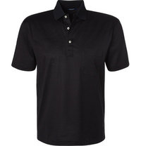 Gran Sasso Polo-Shirt schwarz