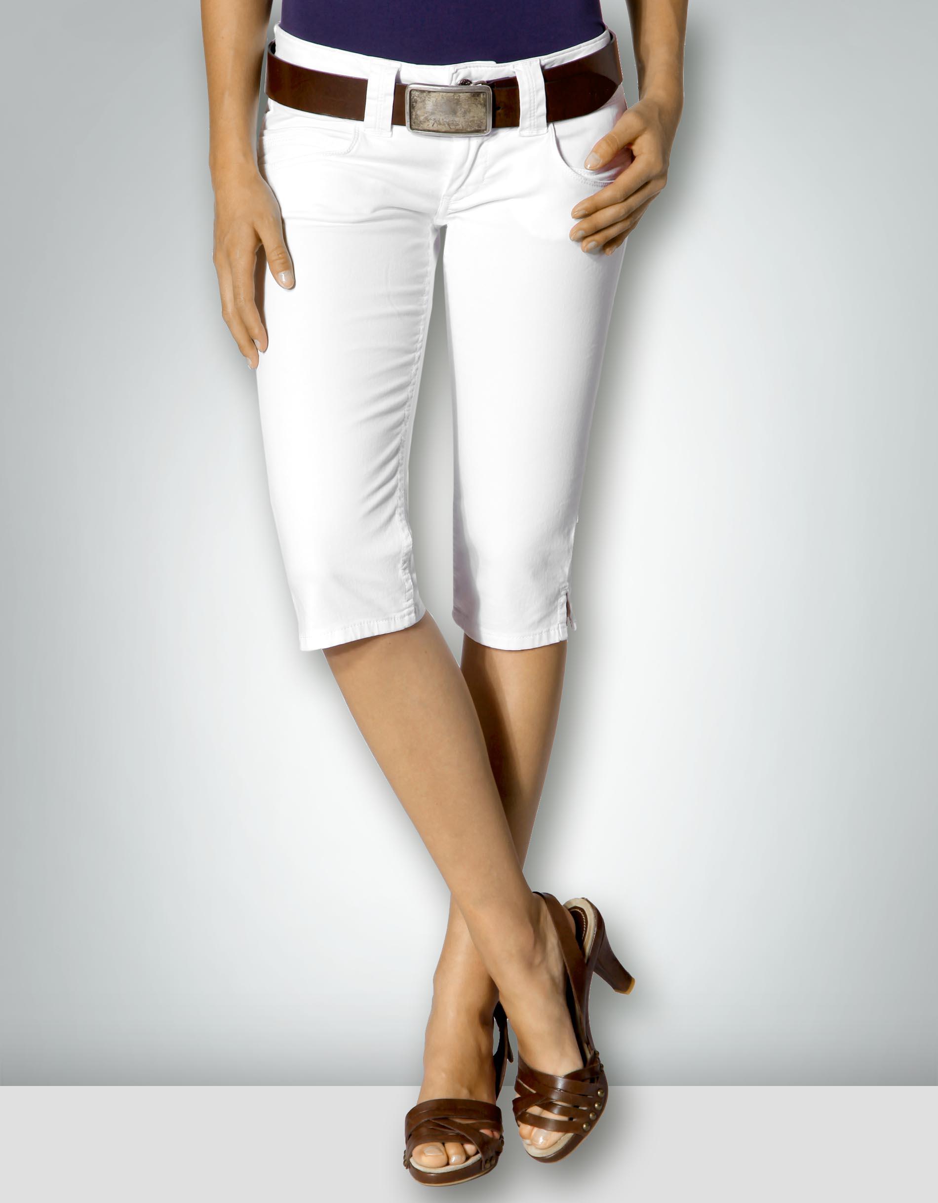 3d05bb5df046 Pepe Jeans Damen Bermudas Venus Baumwolle, weiß empfohlen von Deinen  Schwestern