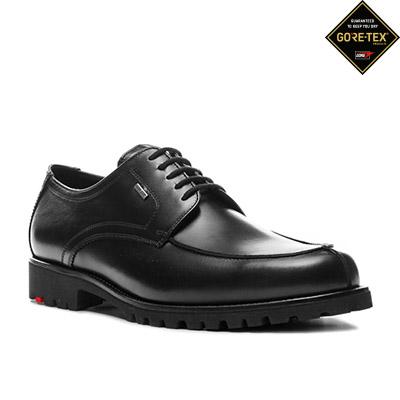 half price speical offer on feet images of LLOYD VALDEZ GORE-TEX® schwarz 21-814-00 | herrenausstatter.de