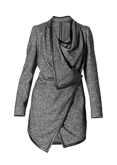 Joop damen mantel schwarz