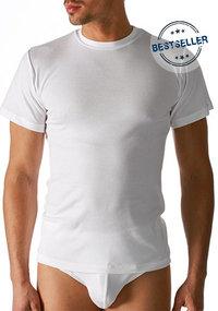 Mey NOBLESSE Olympia-Shirt 1/2 Arm weiß
