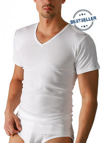 Mey NOBLESSE V-Shirt weiß