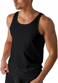 Mey DRY COTTON Athletic-Shirt schwarz