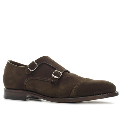 Prime Shoes Monk Velourleder t.d.moro