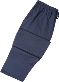 Seidensticker Pyjama-Hose lang d.-blau
