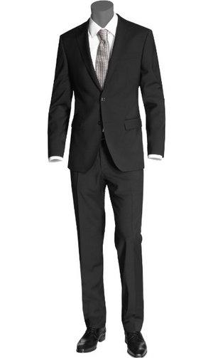 REN� LEZARD Anzug schwarz