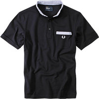 Fred Perry Strech Polo-Shirt navy