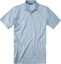 Gran Sasso Polo-Shirt hellblau