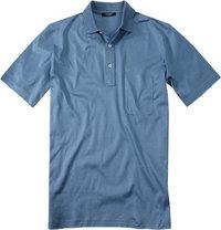 Gran Sasso Polo-Shirt meerblau