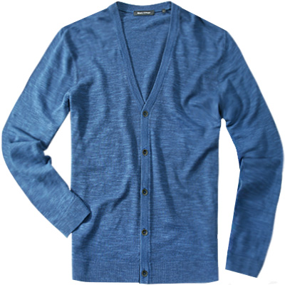 Marc O'Polo Cardigan blue fjord 224/5108/61258/876