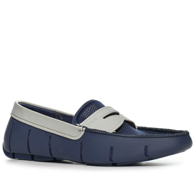 SWIMS Penny Loafer navy-gray
