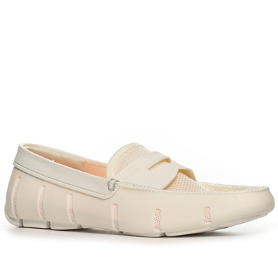 SWIMS Penny Loafer optical white