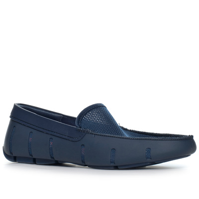 SWIMS Flat Loafer navy