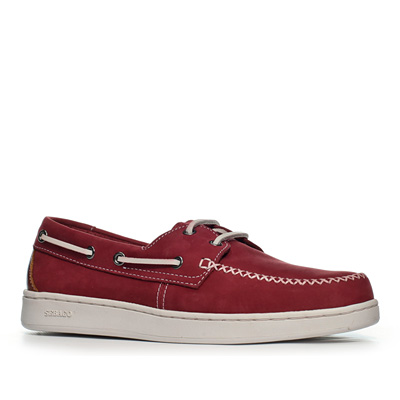 SEBAGO Wentworth Two Eye crimson red B22604