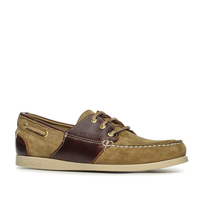 SEBAGO Saddle brrown-tan B71302