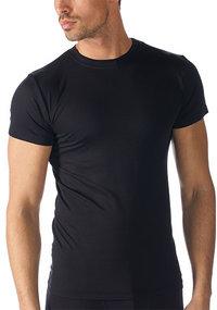 Mey SOFTWARE Olympia-Shirt schwarz