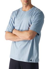 Mey NIGHT BASICS Shirt 1/2 Arm blau