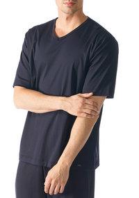 Mey LOUNGE Shirt 1/2 Arm indigo