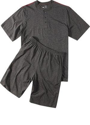 schlafanzug herren kurz online kaufen bei. Black Bedroom Furniture Sets. Home Design Ideas