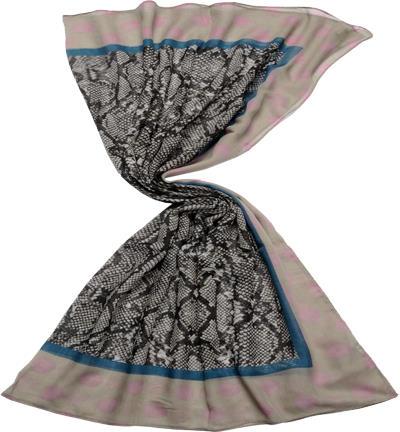 codello damen schal tuch schwarz grau empfohlen von deinen schwestern. Black Bedroom Furniture Sets. Home Design Ideas
