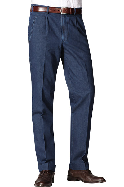 Hiltl Hose Light Denim Morello-U 52401/71002/40