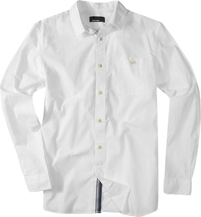 Fred Perry Hemd white M1335/100
