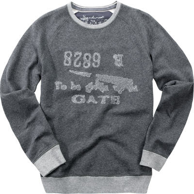 BOSS Orange Sweatshirt dark grey 50228461/Wise/023