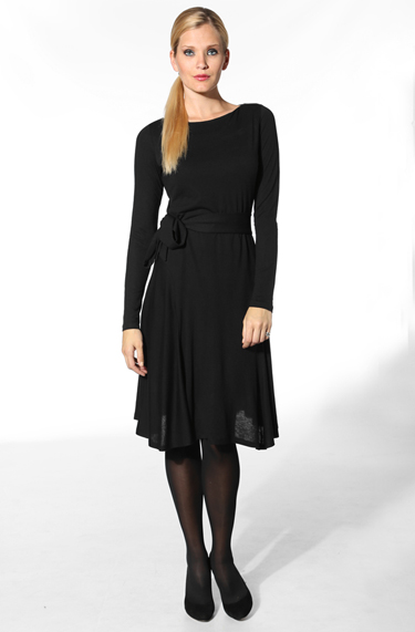 Damen Kleid Cimolly schwarz 5217/9405/99
