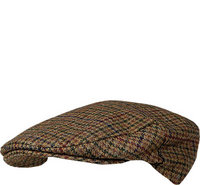 Barbour Crieff Cap dark olive check
