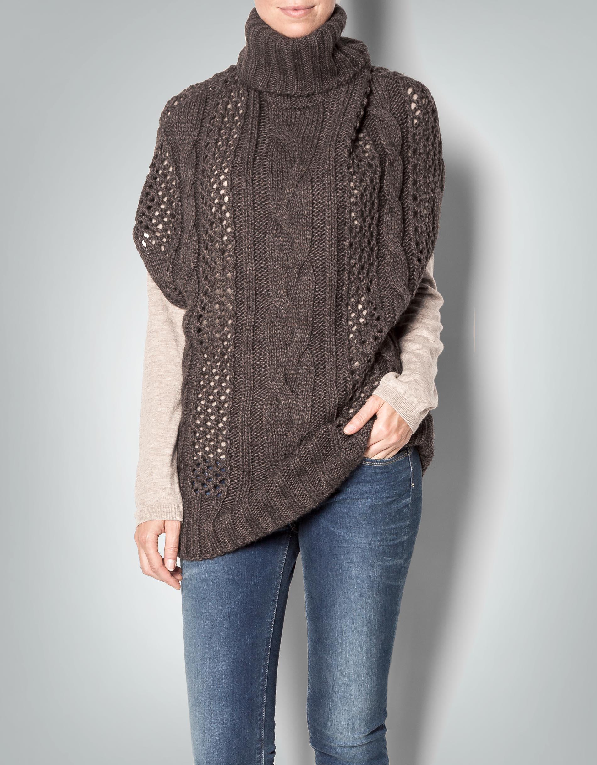 c7080d68802530 Replay Damen Rolli-Pullunder Pullover im Poncho-Look empfohlen von Deinen  Schwestern