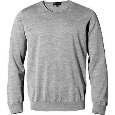 John Smedley RH-Pullover Marcus silver