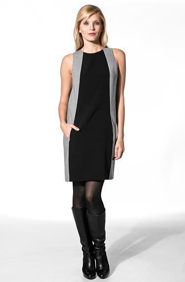 Calvin Klein Damen Kleid grau KWW447