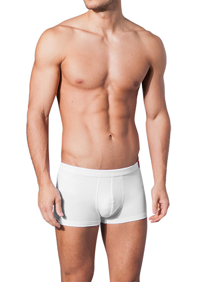 bruno banani Shorts Base Line wei� 2206/1117/001
