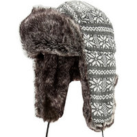 Strellson Sportswear Mütze grau-weiß