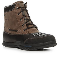 SEBAGO Wells Riverbank Mid black coffee